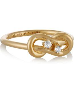 Catalan Gold-plated Quartz Ring