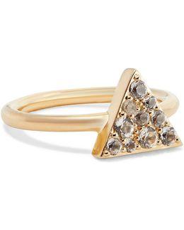 Valencia Gold-tone Crystal Ring