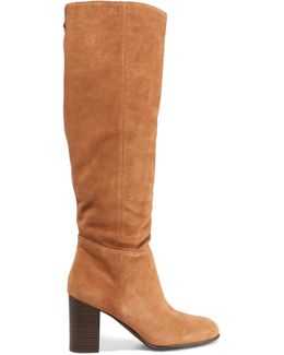 Silas Suede Knee Boots