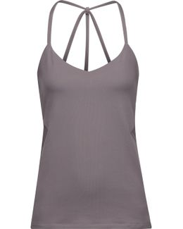 Hillary Mesh-trimmed Stretch-jersey Tank