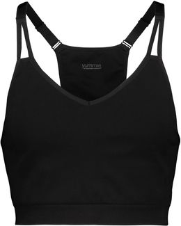 Whitney Stretch-jersey Sports Bra