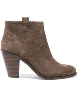 Ivana Suede Ankle Boots