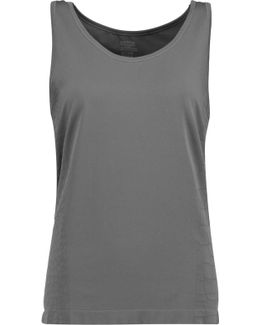 Jagger Croc-effect Stretch-jersey Tank