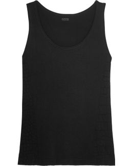 Jagger Printed Stretch-jersey Tank