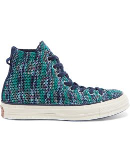 + Missoni Chuck Taylor Crochet-knit High-top Sneakers