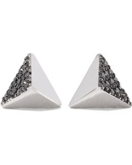18-karat White Gold Diamond Earrings