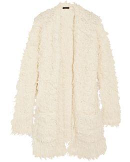 Alpaca-blend Cardigan