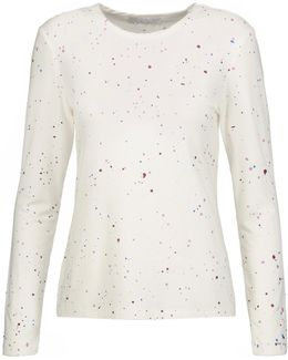 Edith Printed Stretch-jersey Top