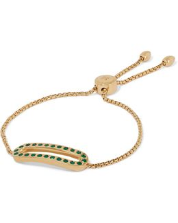 Pop Gold-tone Crystal Bracelet