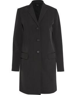 City Stretch-twill Coat
