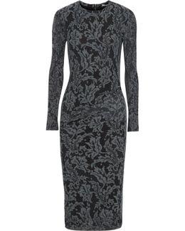 Corded Lace Midi Dress