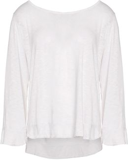 Cotton And Modal-blend Top