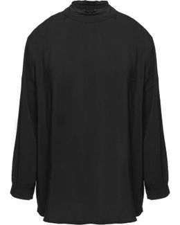 Ruffled Voile Top