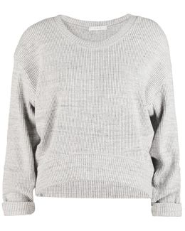 Ciara Ribbed Cotton-blend Sweater