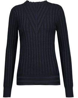 Page Ribbed-knit Sweater