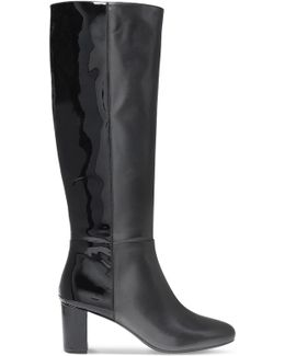 Lucy Leather Knee Boots