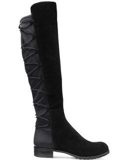 Skye Leather And Neoprene Boots