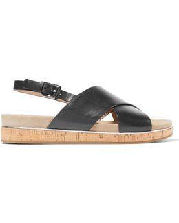Hallie Leather Sandals