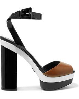 Evangeline Leather Sandals