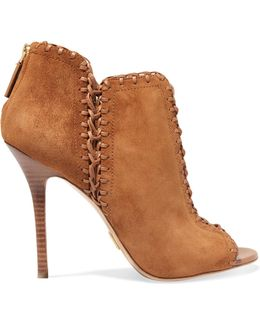 Henley Lace-up Suede Ankle Boots