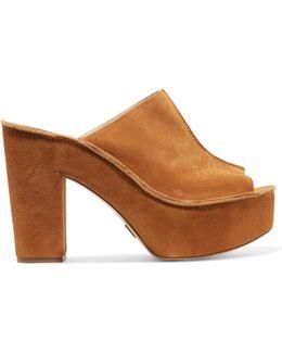 Elsa Suede Platform Sandals