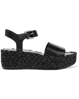 Eldridge Leather Platform Sandals