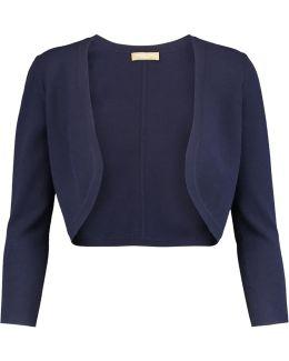Stretch-knit Cardigan