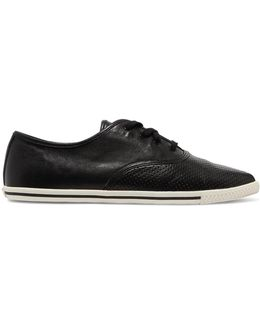 Carter Perforated Leather Sneakers