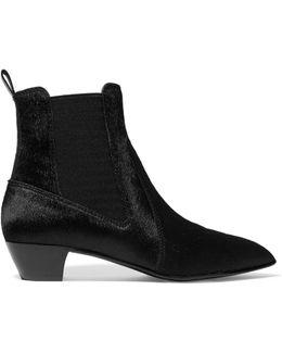 Lou Calf Hair Ankle Boots