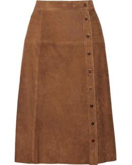 Burton Suede Skirt
