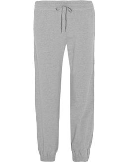 Stretch-cotton Track Pants