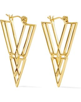 Clan Gold-tone Earrings