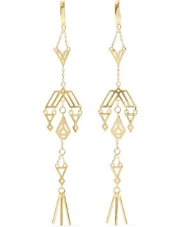 Zapotec Gold-tone Earrings