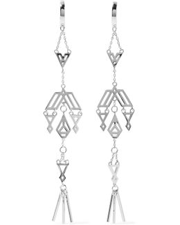 Zapotec Silver-tone Earrings