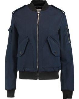 Cotton-canvas Bomber Jacket
