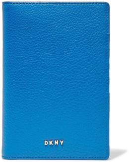 Chelsea Textured-leather Passport Cover