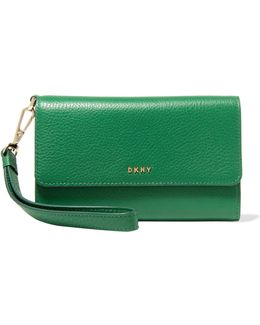 Chelsea Textured-leather Wallet