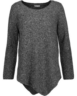 Tambrel Asymmetric Wool-blend Sweater