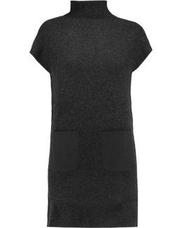 Wool And Cashmere-blend Mini Dress