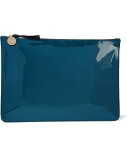 Margo Patent-leather Clutch