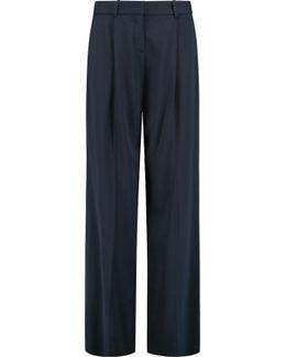 Onark Twill Wide-leg Pants