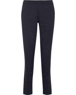 Termin Linen-blend Straight-leg Pants