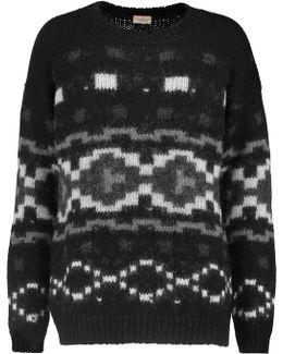Tahoe Intarsia-knit Alpaca Sweater