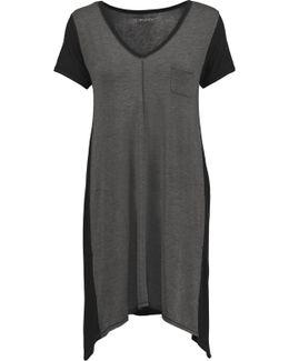 Two-tone Stretch-modal Nightdress