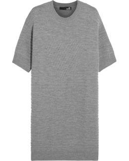 Textured-wool Dress