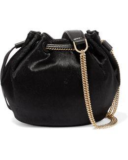 Calf Hair Bucket Bag
