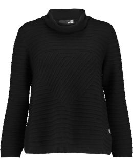 Ribbed-wool Turtleneck Sweater