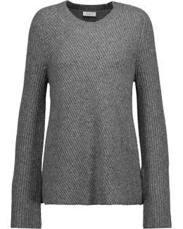 Graham Ribbed Merino Wool-blend Sweater