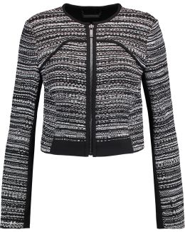 Caity Embroidered Cotton-blend Jacket