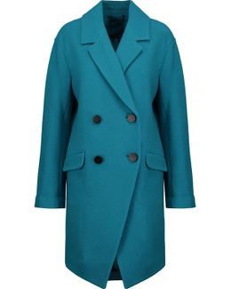 Finola Bouclé Wool Coat